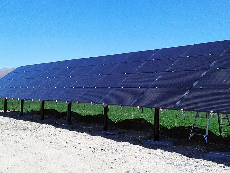 Agriculture Solar Project by EGT Solar