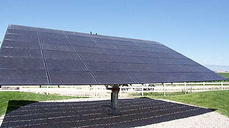 Solar World Commercial Solar Installation