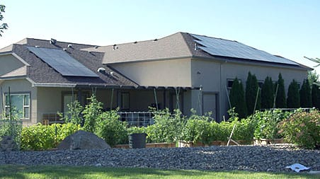 House image of a Residential Solar Intallation